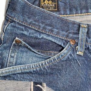 Vintage Lee Riders Jeans Sanforized Selvedge USA